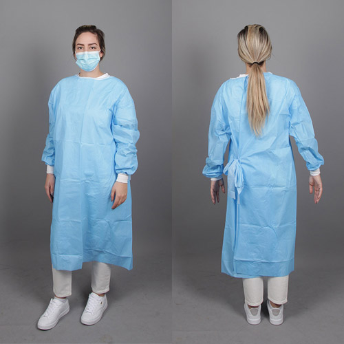 Coated Disposable Gowns
